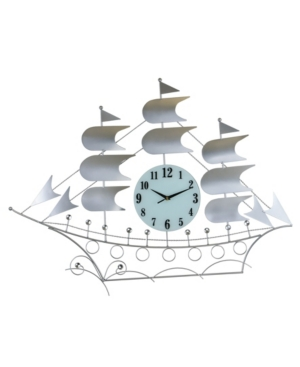 Three Star Sailboat Wall Clock