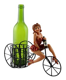 Lady In Wine Bottle Holder