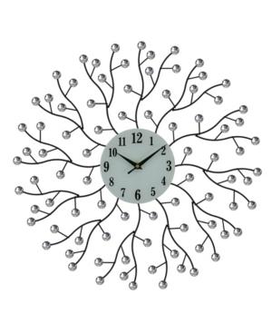 Three Star Abstract Branch Wall Clock