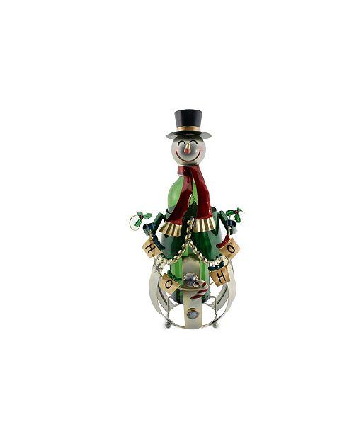 Wine Bodies Snowman Wine Bottle Holder