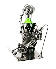 Lady Dentist Wine Bottle Holder