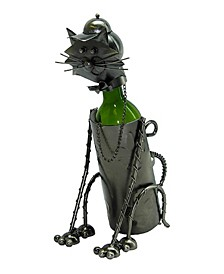Sitting Cat Wine Bottle Holder