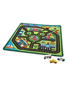 Mickey's City Rug Playmat