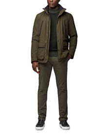 BOSS Men's Water-Repellent Padded Jacket