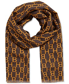 BOSS Men's Adam Italian-Made Wool Scarf