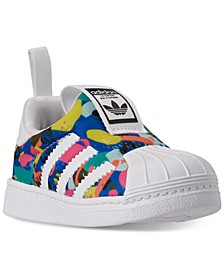 Toddler Girls Superstar 360 Slip-On Casual Sneakers from Finish Line