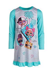 AME Little & Big Girls 2-Pc. LOL Surprise! Nightgown & Sleep Mask Set
