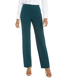 Juniors' Magic-Waist Trouser Pants