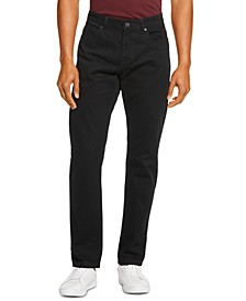 Men's Slim-Straight Fit Stretch Twill Pants, Created for Macy's