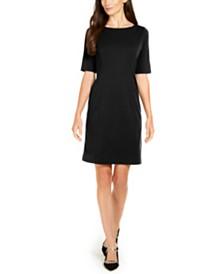 Alfani Petite Solid Sheath Dress, Created for Macy's