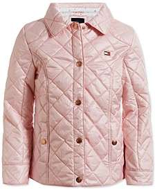 Baby Girls Quilted Barn Jacket