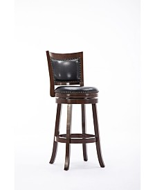 "Boraam Bristol Collection 24"" Swivel Bar Stool"