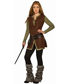 BuySeasons Adult Viking Fur Leg Guards