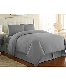 Ultra - Soft and Modern 3 Piece Duvet Cover