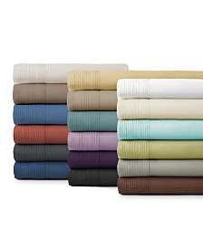 "Southshore Fine Linens Classy Pleated 21"" Extra deep, Pocket Sheet Set"