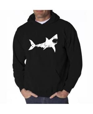 La Pop Art Men's Word Art Hooded Sweatshirt - Bite Me
