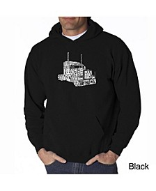 Men's Word Art Hoodie - Keep on Truckin