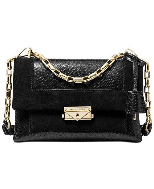 Michael Kors Cece Leather Chain Shoulder Bag