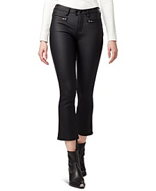 Connector Coated Kick-Crop Jeans