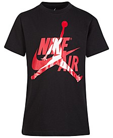 Big Boys Cotton Jumpman Logo T-Shirt