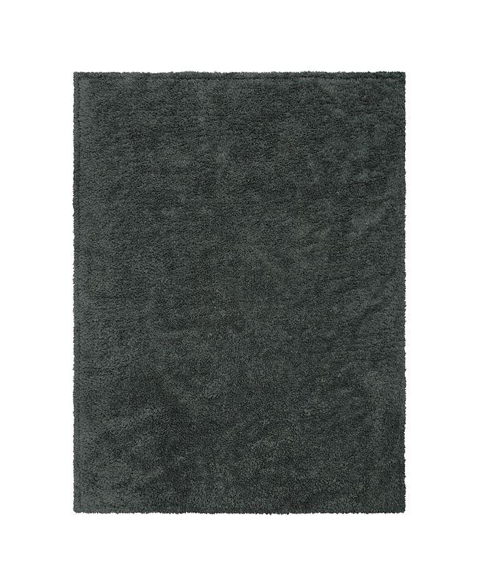 Trend Lab - Gray Plush Baby Blanket