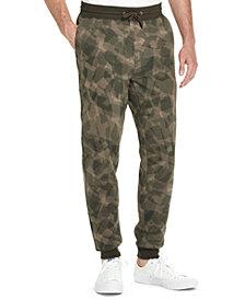Weatherproof Vintage Men's Camouflage Fleece Joggers