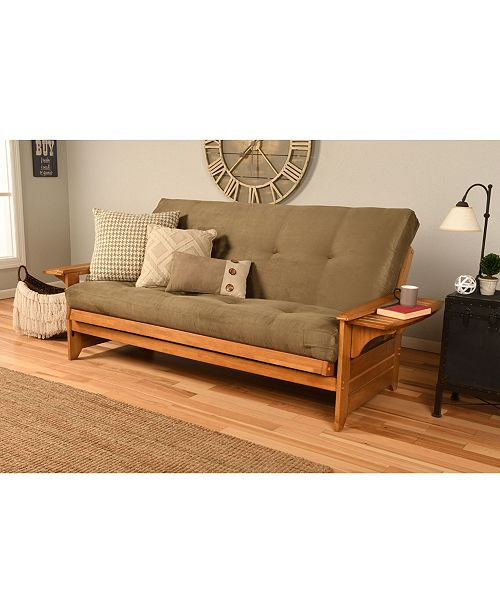 Phoenix Futon In Ernut Finish