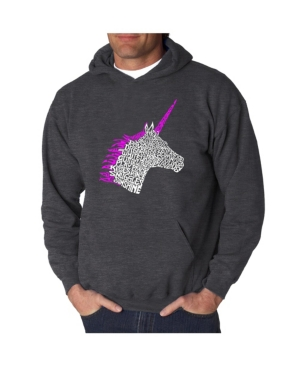 Men's Word Art Hooded Sweatshirt