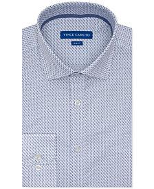 Vince Camuto Men's Slim-Fit Performance Stretch Geo-Print Dress Shirt