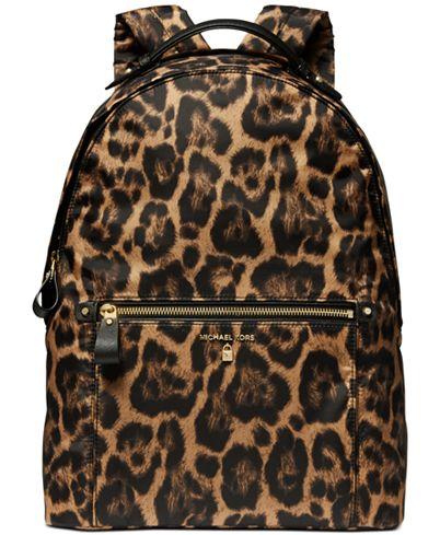 Michael Kors Kelsey Nylon Large Backpack