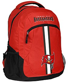 Forever Collectibles Tampa Bay Buccaneers Action Backpack