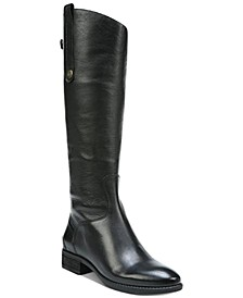 Penny 2 Wide Calf Riding Leather Boots