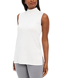 Sleeveless Mock-Turtleneck Sweater, Created for Macy's