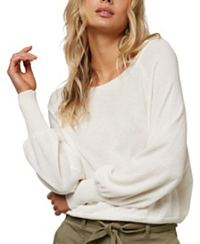 O'Neill Juniors' Keiki Dolman-Sleeve Sweater