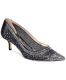 Badgley Mischka Emi Evening Shoes