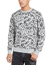 Men's Dawson MCM Graffiti Print Sweater
