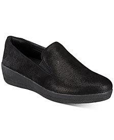 FitFlop Superskate Slip-On Wedge Sneakers