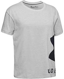 Under Armour Big Girls Sportstyle Logo-Print T-Shirt