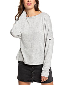 Juniors' Holiday Everyday Oversized Top