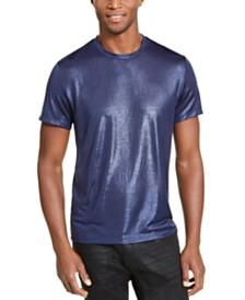 I.N.C. Men's ONYX Metallic T-Shirt, Created for Macy's