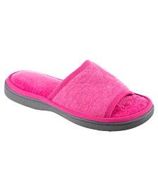 Isotoner Women's Heathered Jersey Slide Slipper, Online Only