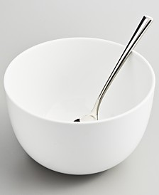 Martha Stewart Collection Whiteware Cereal Bowl, Created for Macy's