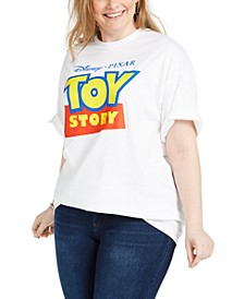 Trendy Plus Size Cotton Toy Story Graphic-Print T-Shirt
