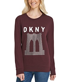 Sparkle Bridge Logo Sweatshirt