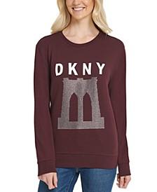 Sparkle Bridge Logo Sweatshirt