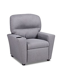 Kangaroo Trading Co. Kid's Recliner with Cupholder - Jitterbug Ash