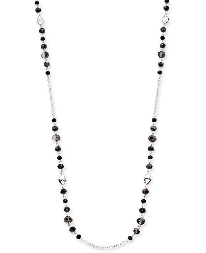 """Style & Co Beaded Strand Necklace, 72"""" + 3"""" extender, Created for Macy's"""