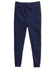 Little Boys Alex Stretch Twill Joggers, Created For Macy's