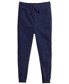Epic Threads Little Boys Alex Stretch Twill Joggers, Created For Macy's