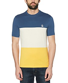 Men's Slim-Fit Colorblock T-Shirt